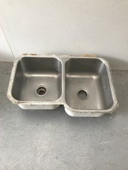 GENTLY USED Stainless Steel Sink