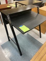 Black Metal Desk