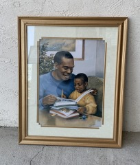 GENTLY USED Framed Artwork