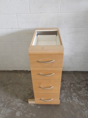 GENTLY USED Kitchen Cabinet 12\