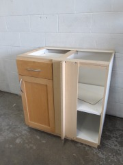 GENTLY USED Kitchen Cabinet 33\
