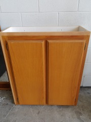 GENTLY USED Kitchen Cabinet 37\