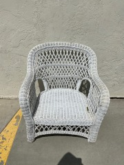 GENTLY USED Outdoor Wicker Chair