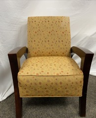 GENTLY USED Art Deco Arm Chair