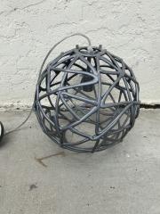 GENTLY USED Sphere Pendant Light