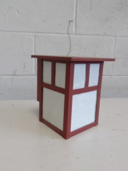 GENTLY USED Exterior Wall Sconce