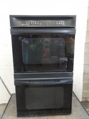 GENTLY USED GE Double Oven