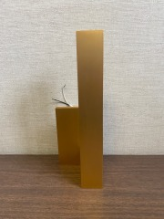 NEW Matte Gold Wall Sconce