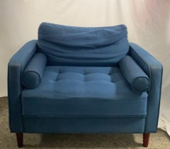 GENTLY USED Mid-Century Accent Chair