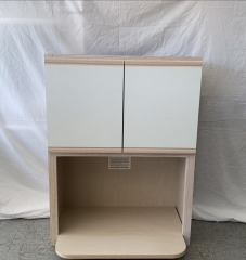 NEW Upper Microwave Cabinet 27\
