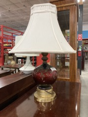 Red Table Lamp