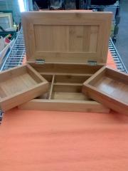 SMALL BAMBOO JEWELRY BOX