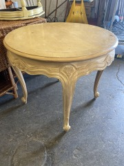 ROUND SIDE TABLE (D.I.Y)