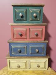 4pc Wooden Storage Set