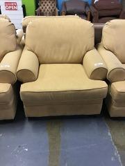 Golden Yellow Chair