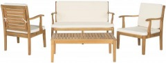 NEW Fresno 2 Piece Outdoor Living Set (Bench and Coffee Table Only)