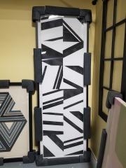 Oversized Black & White Art