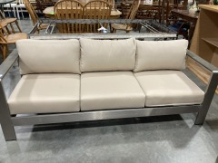 Royalston 72.02'' Wide Outdoor Patio Sofa with Cushions