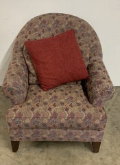 GENTLY USED Multi Color Arm Chair