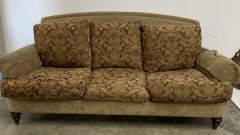 GENTLY USED Floral Sofa