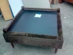 SIDE TABLE W\/ SLATE TOP