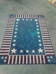AMERICAN FLAG CARPET