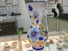 Italian Majolia Vase - COLLECTIBLES