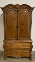 GENTLY USED TV Armoire