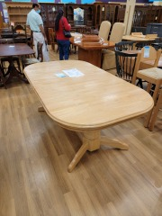 BUTCHERBLOCK DINING TABLE - NO CHAIRS