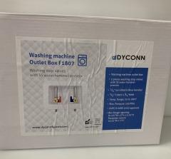 NEW Washing Machine Outlet Box