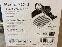 New Fantech Exhaust Fan FQ80
