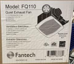 New Fantech Exhaust Fan FQ110