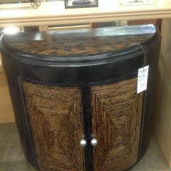 Black Demilure Cabinet - NEW\/BETTER FURNITURE