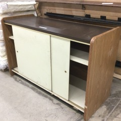 Commercial Cabinet with Sliding Doors - GENTLY USED FURNITURE