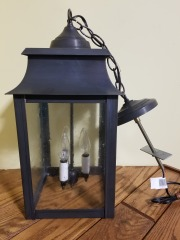 3 Bulb Int\/Ext Ceiling Light