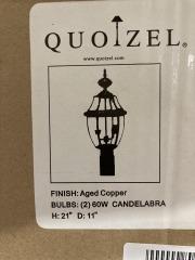 New Wolfers Quoizel NY9042AC Candelabra