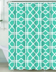 NEW Riverside Shower Curtain- Blue Squares