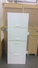 White Cabinet Storage Unit