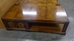 Shiny Wood Coffee Table