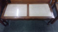 Double Panel Coffee Table