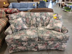 Hickory Hill Floral Loveseat