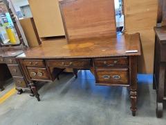 Inlay 5 Drawer Desk