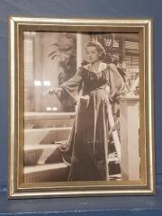 Bette Davis Framed Art