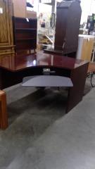 Mahogany Corner Desk