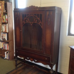 Vintage China Cabinet (AS IS) - GENTLE USED FURNITURE