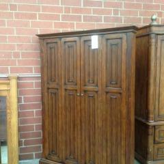 Bifold Door Corner Cabinet - BETTER\/NEW FURNITURE