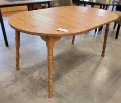 Oak Laminate Table