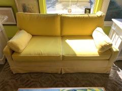Banana Corduroy  Sofa \/ extra fabric