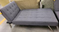 Gray Modern Chaise Lounge