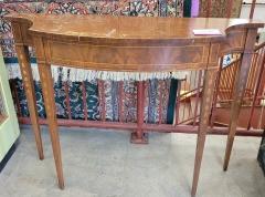 Mahogany Veneer Sofa Table